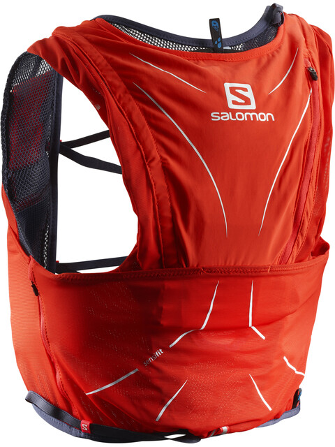 Salomon Adv Skin 12 Bag Set Fiery Red/Graphite